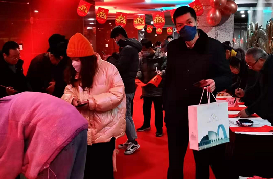 """""""迎新春、写春联、送祝福""""活动在聊城水城明珠大剧院成功举办"""